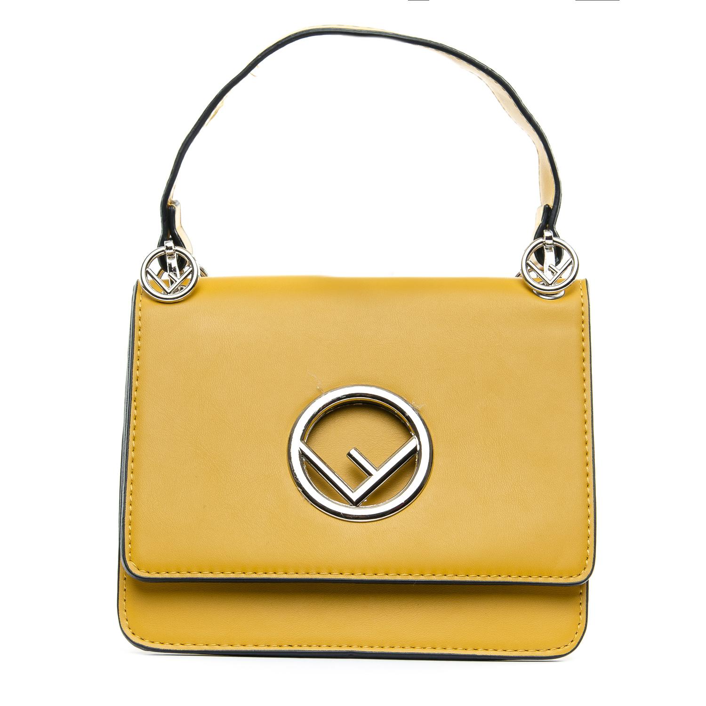 Сумка Женская иск-кожа 1-01 6686 yellow
