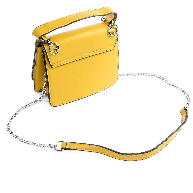Сумка Женская иск-кожа 1-01 6686 yellow - фото 4