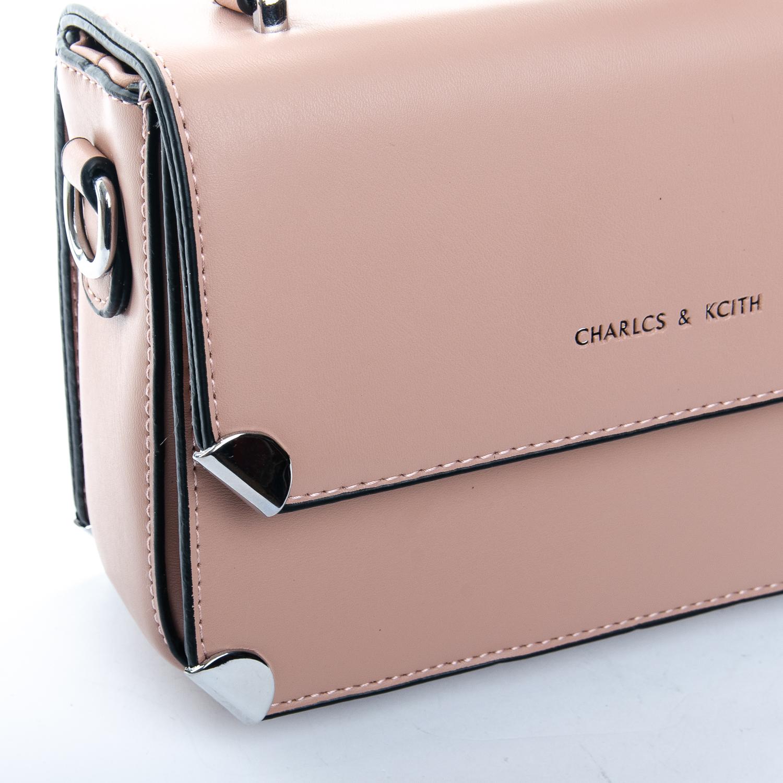 Сумка Женская Клатч иск-кожа 1-01 9821 pink - фото 3