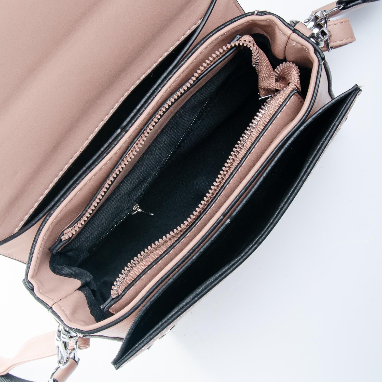 Сумка Женская Клатч иск-кожа 1-01 9821 pink - фото 5