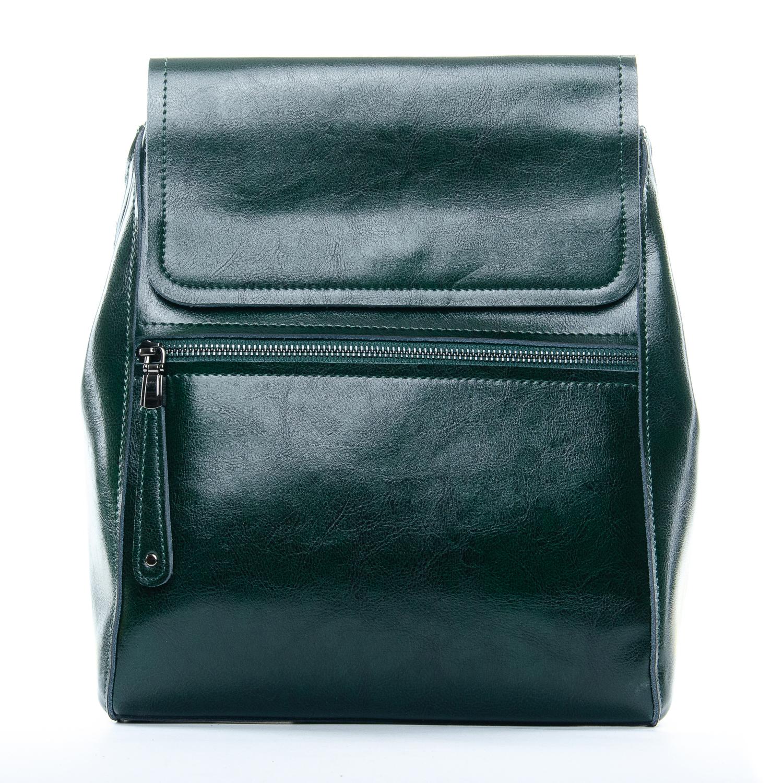 Сумка Женская Рюкзак кожа ALEX RAI 1-05 1005 green