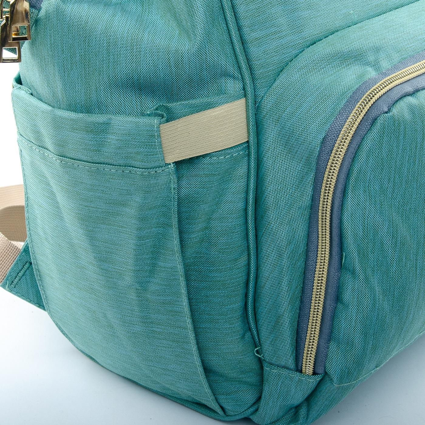 Сумка Женская Рюкзак нейлон Lanpad D900 green - фото 5