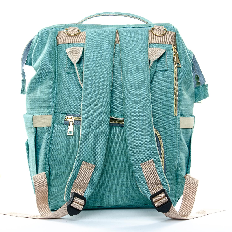 Сумка Женская Рюкзак нейлон Lanpad D900 green - фото 3