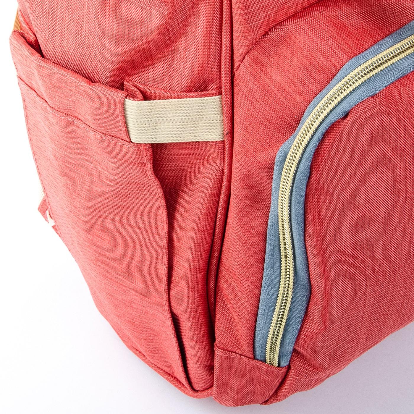 Сумка Женская Рюкзак нейлон Lanpad D900 orange - фото 5