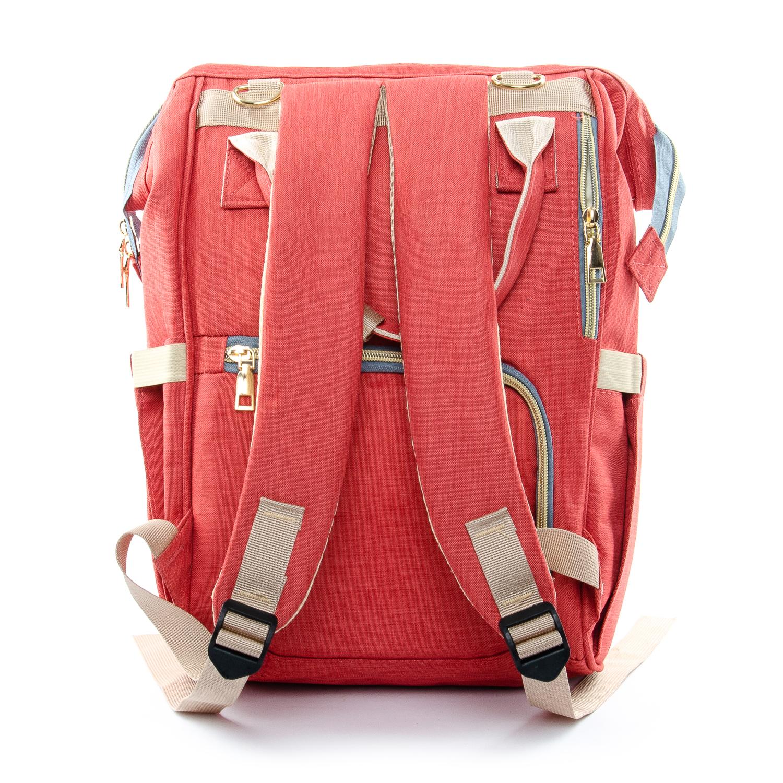 Сумка Женская Рюкзак нейлон Lanpad D900 orange - фото 3