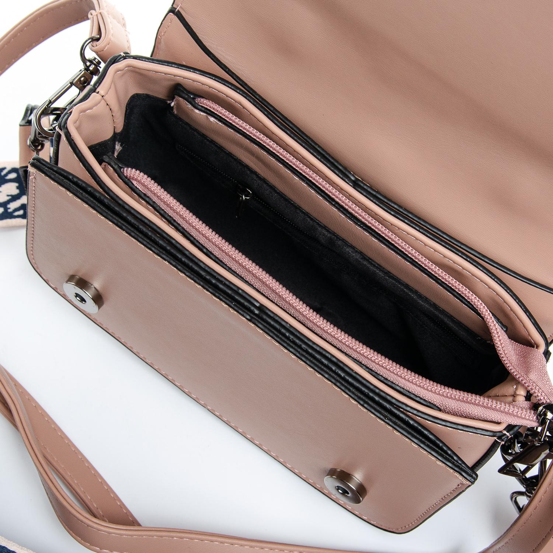 Сумка Женская иск-кожа 1-01 9805 pink - фото 5