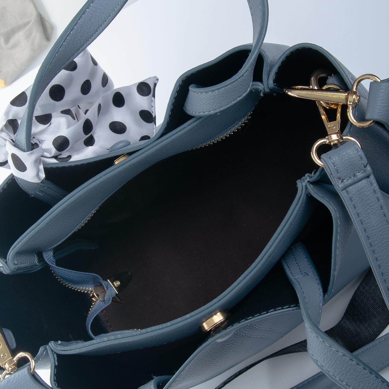 Сумка Женская иск-кожа 1-01 16862 blue - фото 5