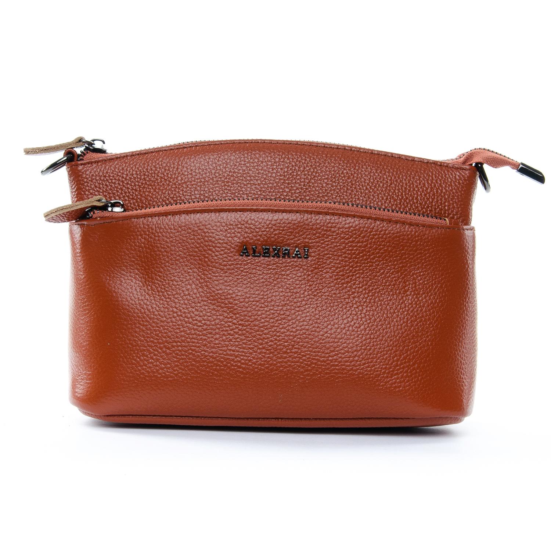 Сумка Женская Клатч кожа ALEX RAI 1-02 2907-6 brown