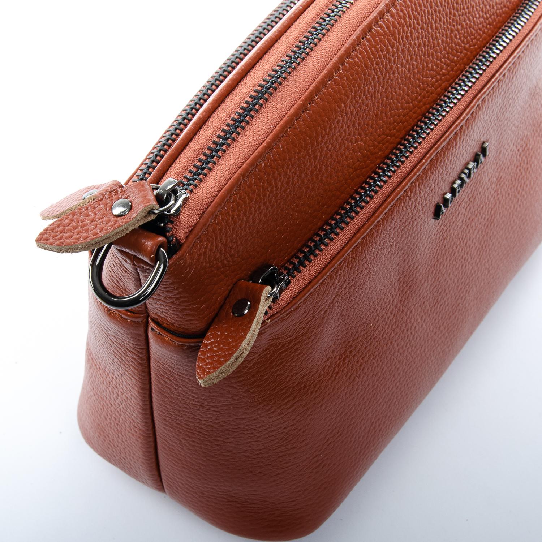 Сумка Женская Клатч кожа ALEX RAI 1-02 2907-6 brown - фото 3