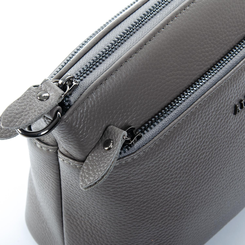 Сумка Женская Клатч кожа ALEX RAI 1-02 2907-7 grey - фото 3