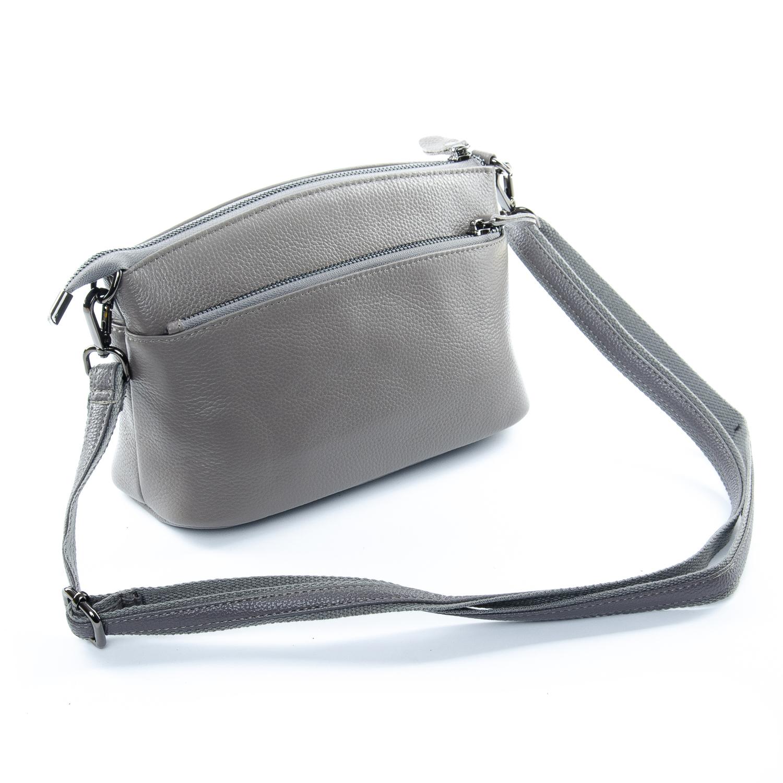 Сумка Женская Клатч кожа ALEX RAI 1-02 2907-7 grey - фото 4