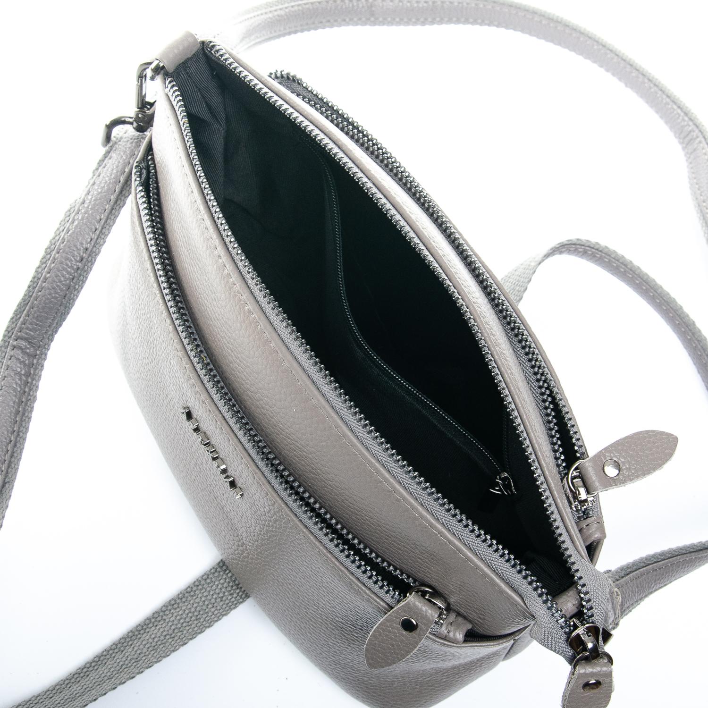 Сумка Женская Клатч кожа ALEX RAI 1-02 2907-7 grey - фото 5