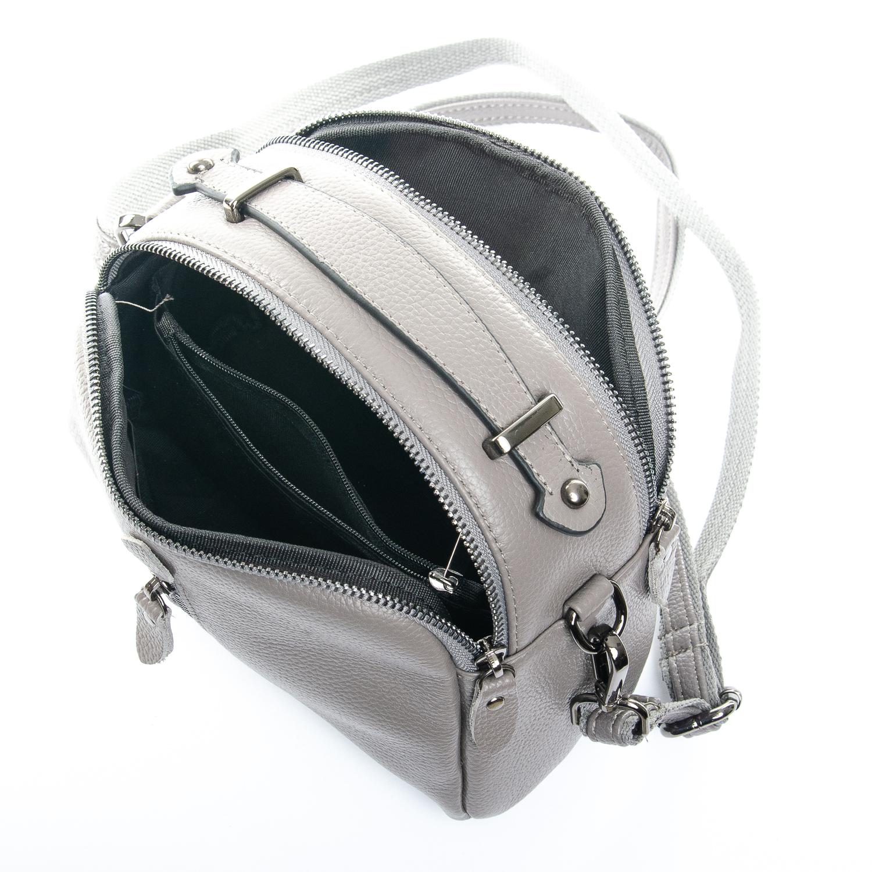 Сумка Женская Клатч кожа ALEX RAI 1-02 2906-7 grey - фото 5
