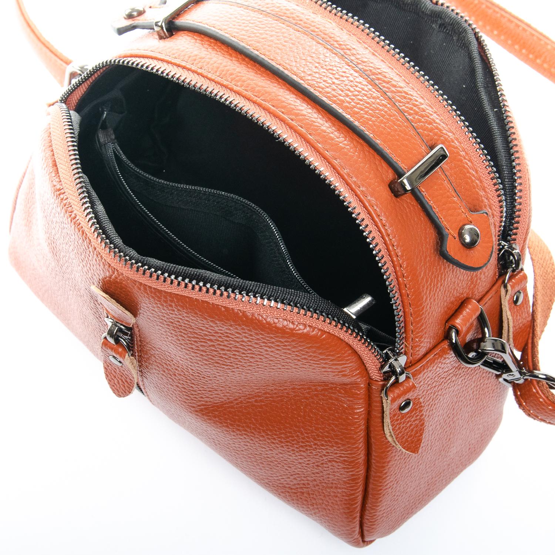 Сумка Женская Клатч кожа ALEX RAI 1-02 2906-6 brown - фото 4
