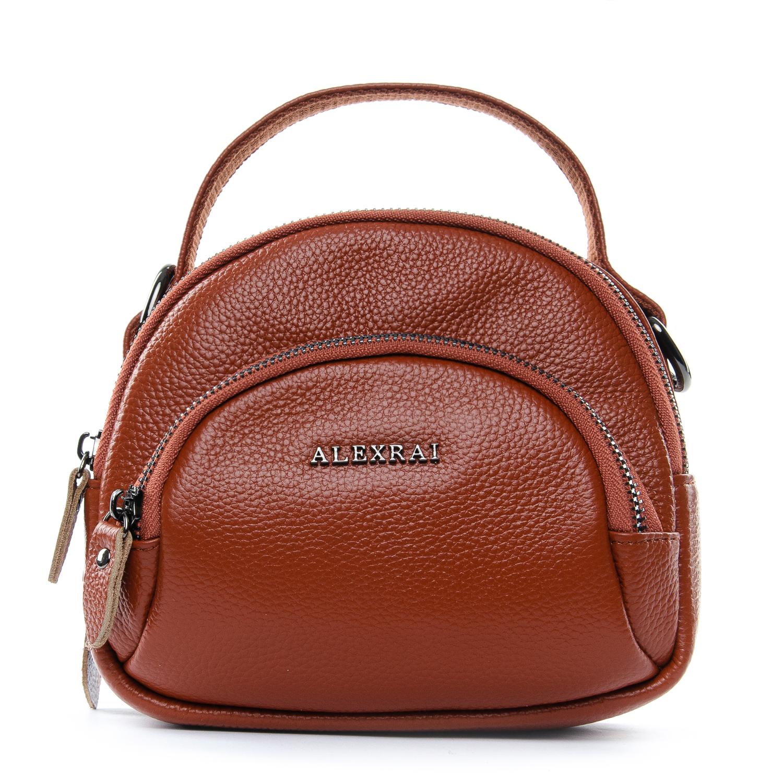 Сумка Женская Клатч кожа ALEX RAI 1-02 3901-6 brown