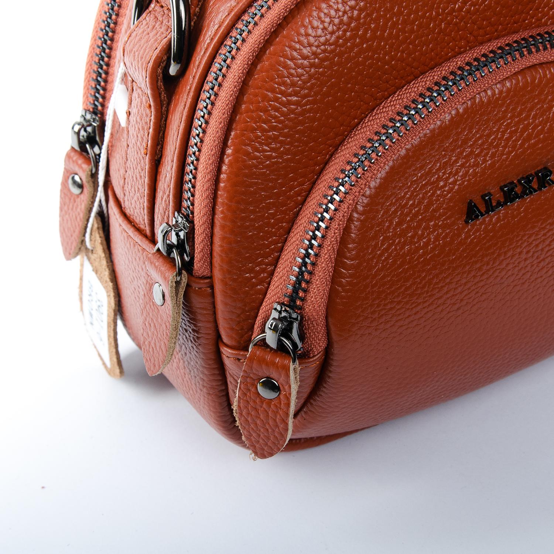 Сумка Женская Клатч кожа ALEX RAI 1-02 3901-6 brown - фото 3