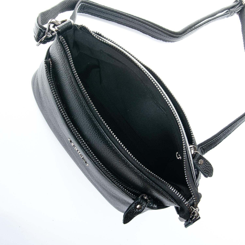 Сумка Женская Клатч кожа ALEX RAI 1-02 2907-1 black - фото 5