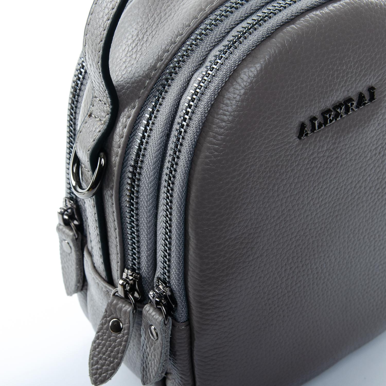 Сумка Женская Клатч кожа ALEX RAI 1-02 3902-7 grey - фото 3