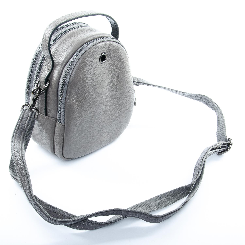 Сумка Женская Клатч кожа ALEX RAI 1-02 3902-7 grey - фото 4
