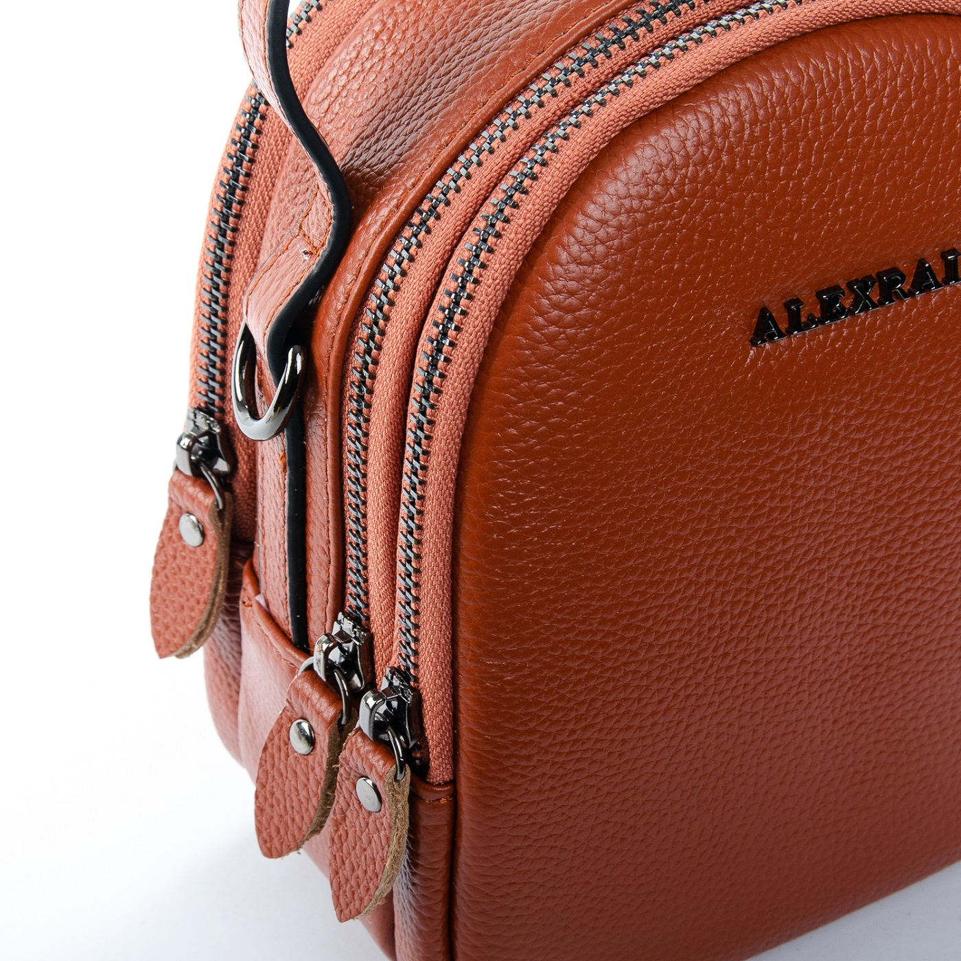 Сумка Женская Клатч кожа ALEX RAI 1-02 3902-6 brown - фото 5