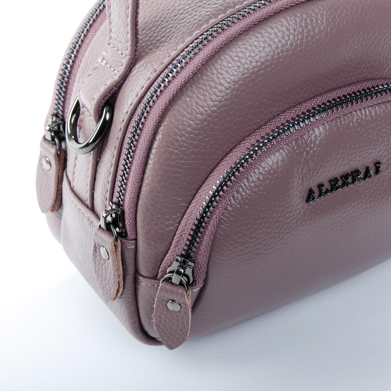 Сумка Женская Клатч кожа ALEX RAI 1-02 3901-3 purple - фото 3
