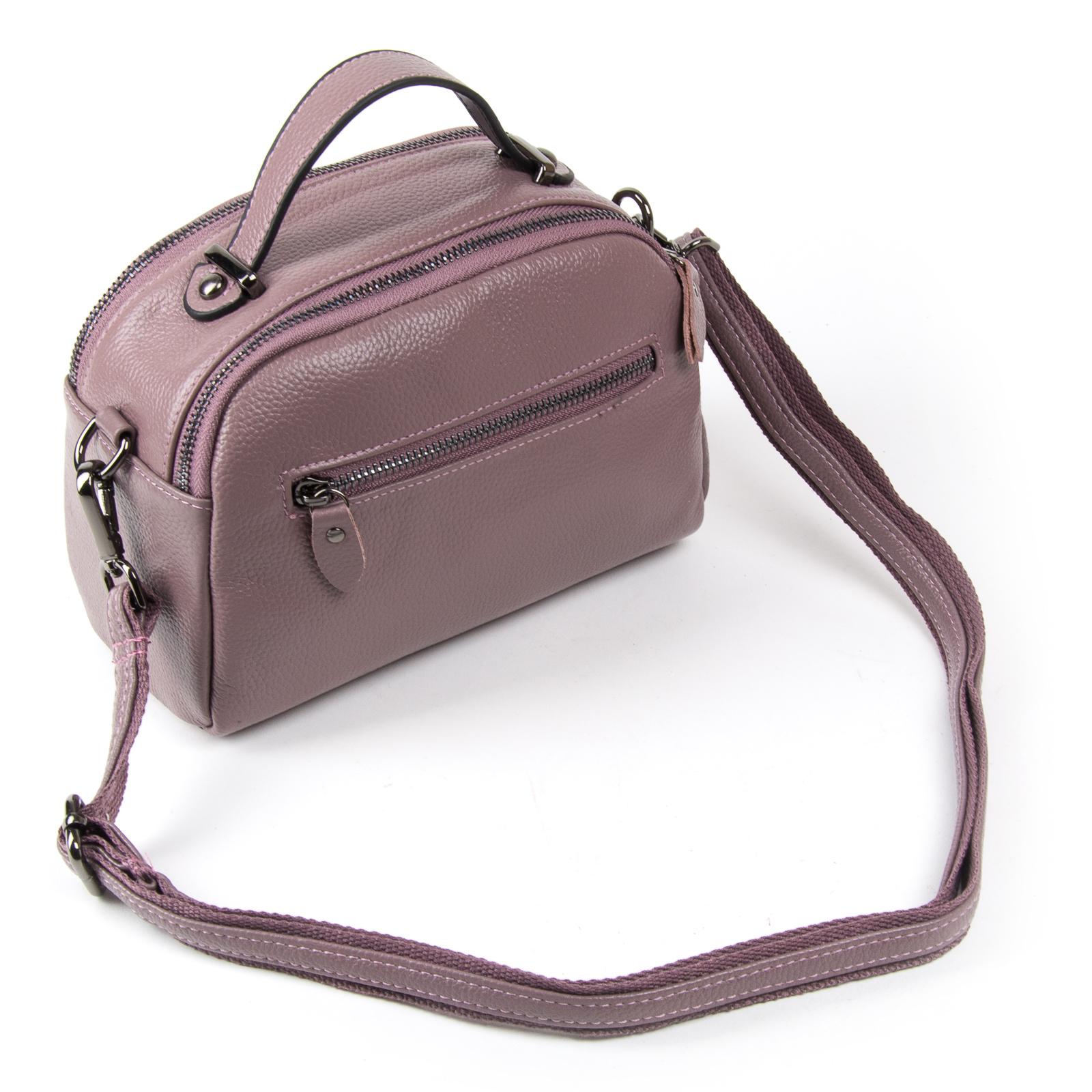 Сумка Женская Клатч кожа ALEX RAI 1-02 2906-3 purple - фото 3