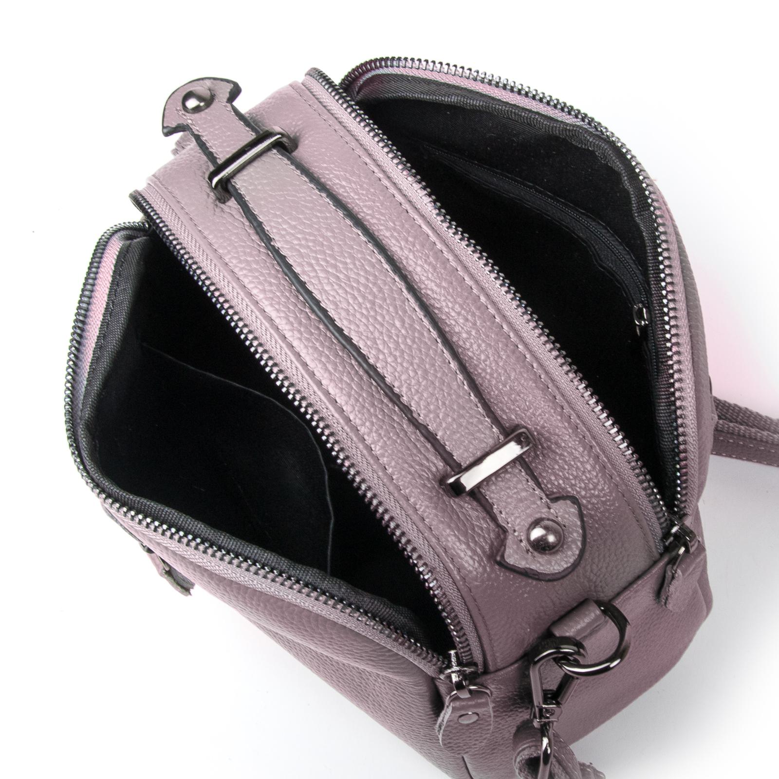Сумка Женская Клатч кожа ALEX RAI 1-02 2906-3 purple - фото 4