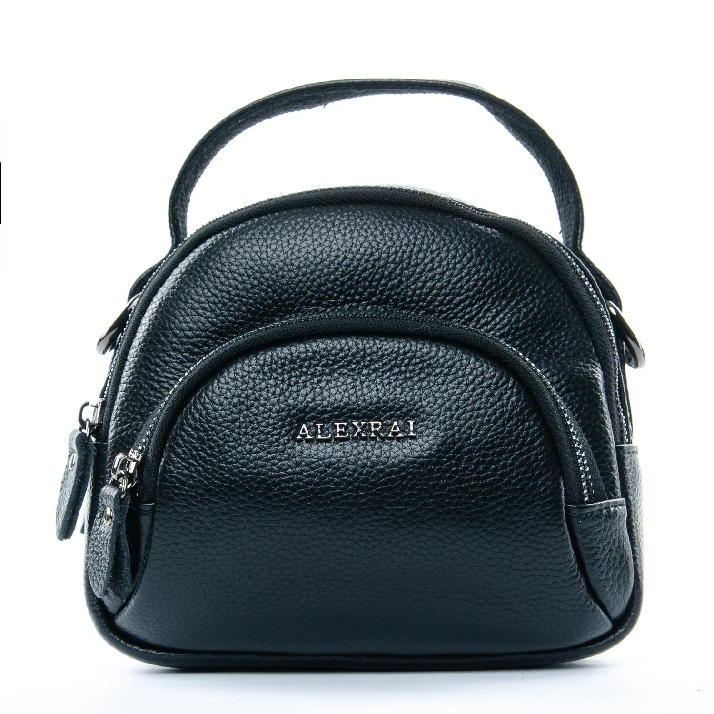 Сумка Женская Клатч кожа ALEX RAI 1-02 3901-1 black