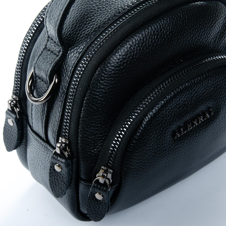 Сумка Женская Клатч кожа ALEX RAI 1-02 3901-1 black - фото 3
