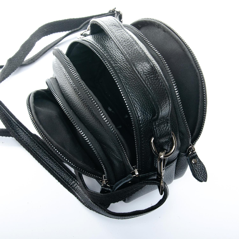 Сумка Женская Клатч кожа ALEX RAI 1-02 3901-1 black - фото 5
