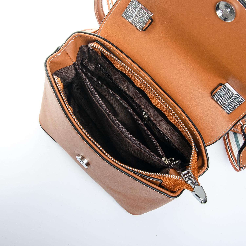 Сумка Женская Клатч иск-кожа FASHION 1-03 9998 brown - фото 5