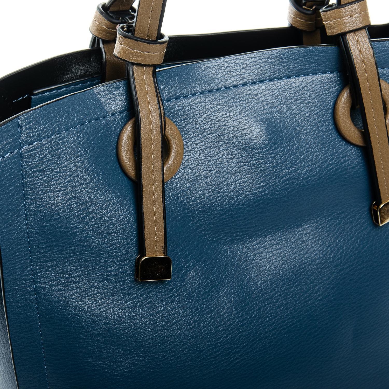 Сумка Женская Классическая иск-кожа FASHION 1-03 17841 blue - фото 3