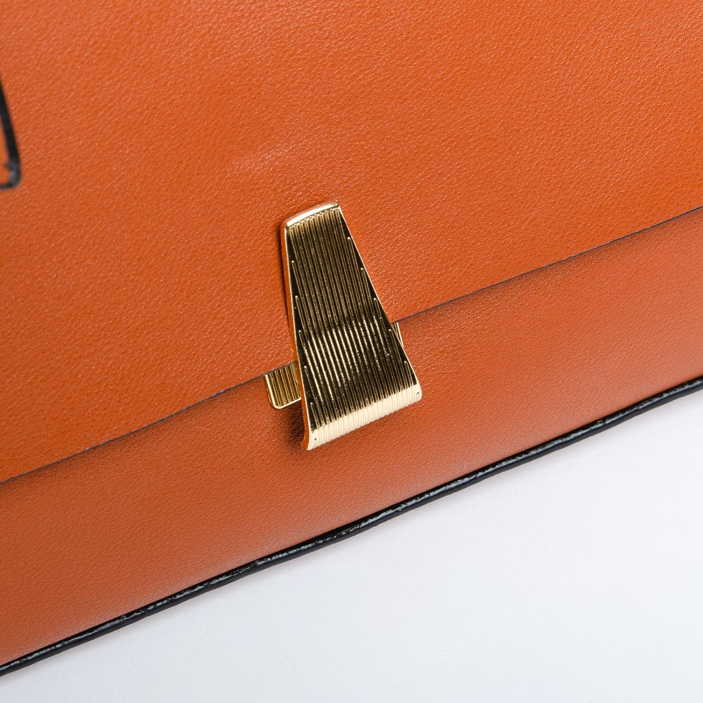 Сумка Женская Клатч иск-кожа FASHION 1-03 66027 brown - фото 4