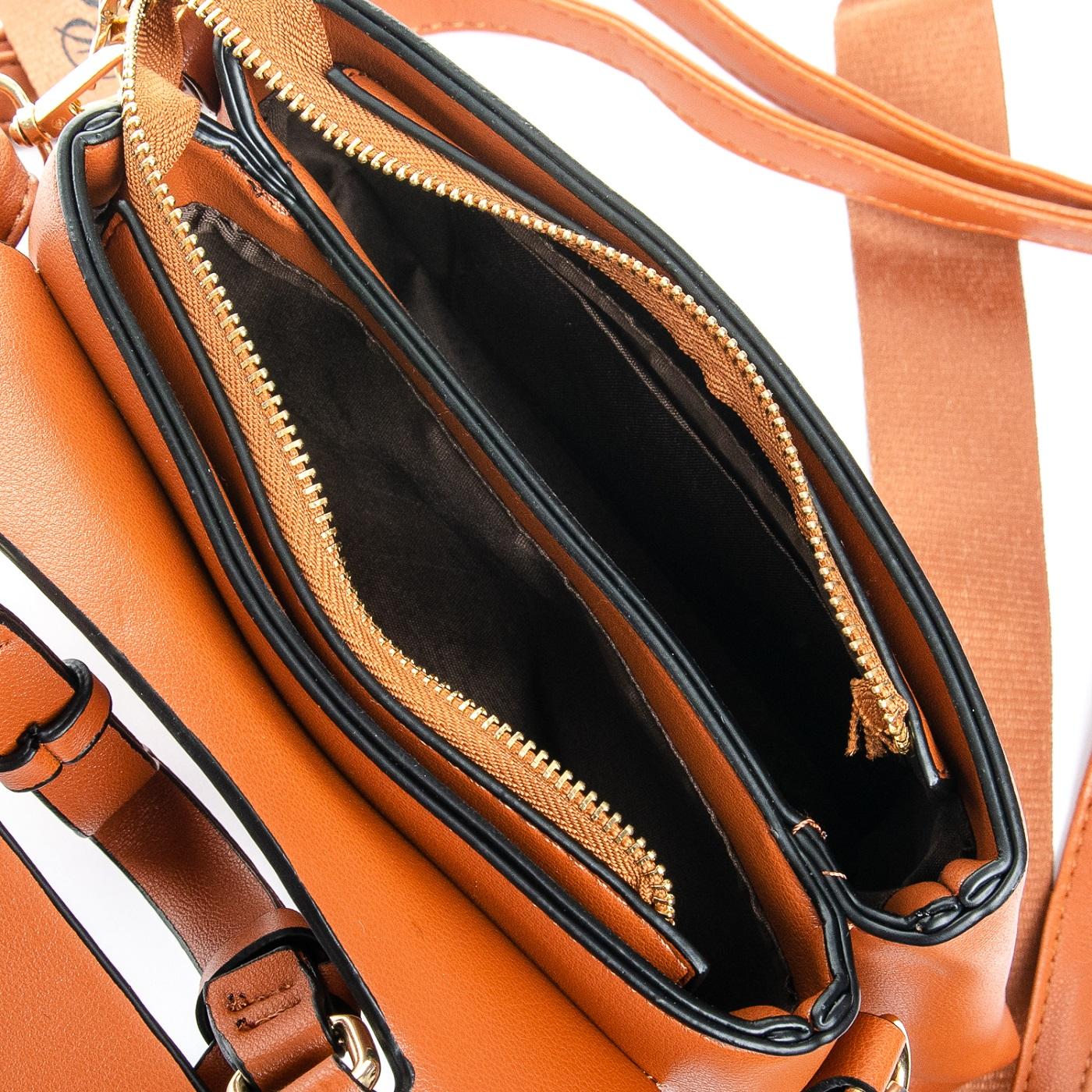 Сумка Женская Клатч иск-кожа FASHION 1-03 66027 brown - фото 5