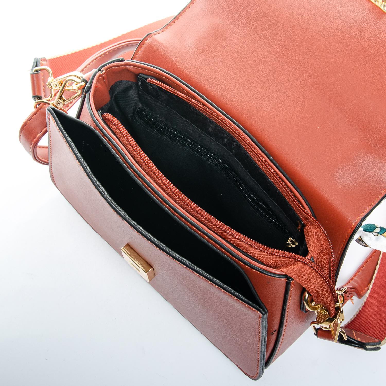 Сумка Женская Клатч иск-кожа FASHION 1-03 9702 orange - фото 5