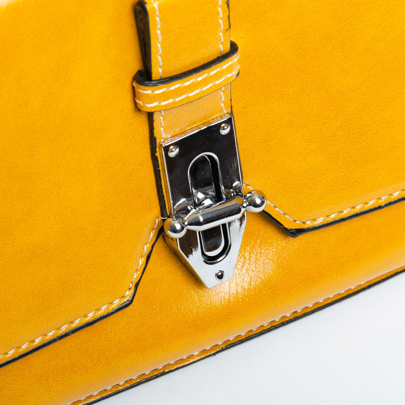 Сумка Женская Клатч иск-кожа FASHION 1-03 9983-1 yellow - фото 5