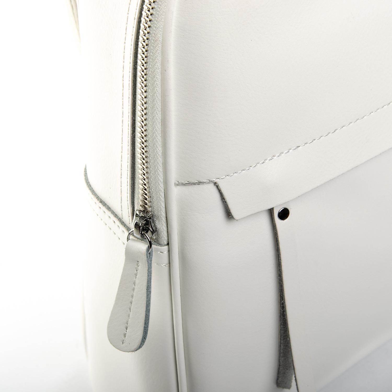 Сумка Женская Рюкзак кожа ALEX RAI 1-06 8649-2 white - фото 3