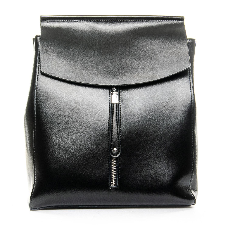 Сумка Женская Рюкзак кожа ALEX RAI 1-06 3206 black
