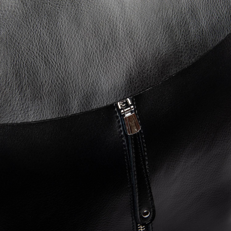Сумка Женская Рюкзак кожа ALEX RAI 1-06 3206 black - фото 3