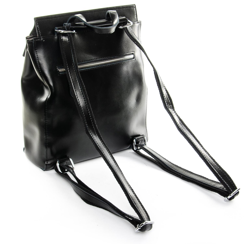 Сумка Женская Рюкзак кожа ALEX RAI 1-06 3206 black - фото 4