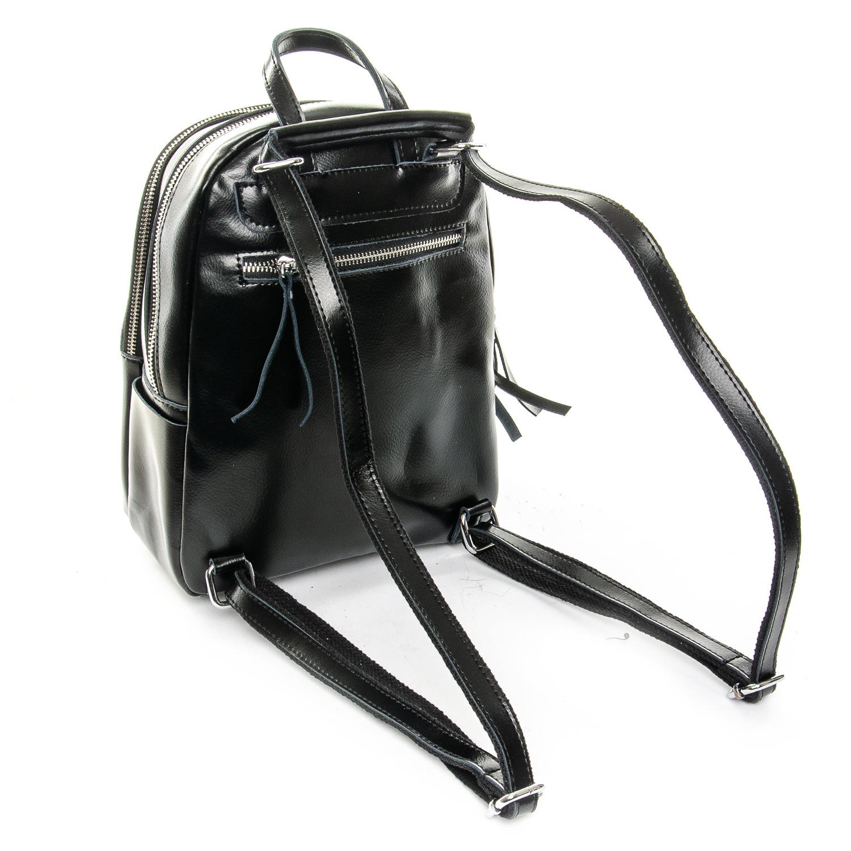 Сумка Женская Рюкзак кожа ALEX RAI 1-06 337 black - фото 4