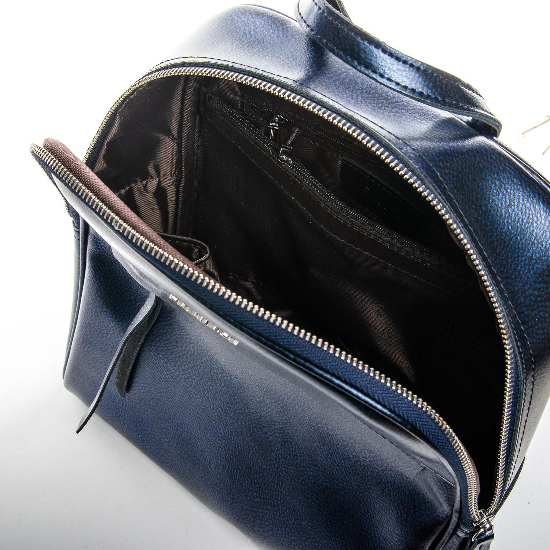 Сумка Женская Рюкзак кожа ALEX RAI 1-06 8649-2 blue - фото 5