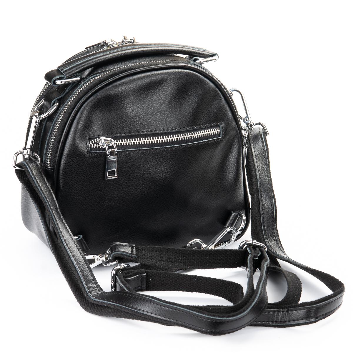 Сумка Женская Классическая кожа ALEX RAI 02-1 339 black - фото 4
