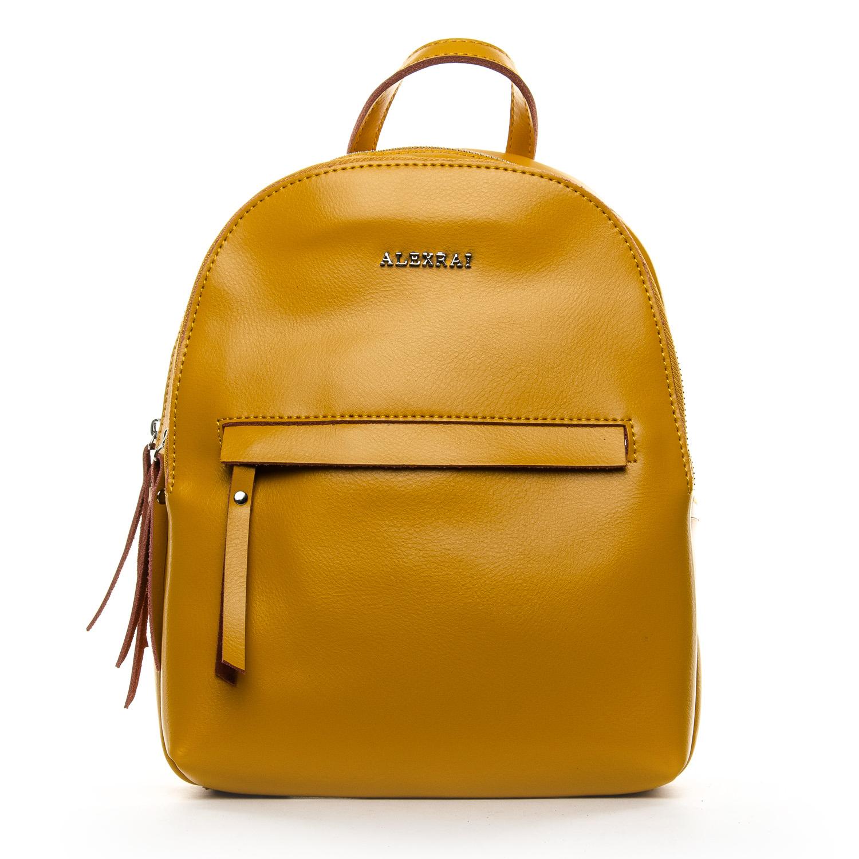 Сумка Женская Рюкзак кожа ALEX RAI 1-06 337 yellow