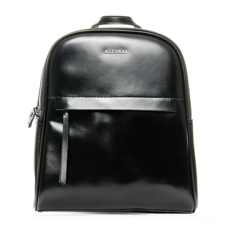 Сумка Женская Рюкзак кожа ALEX RAI 1-06 8649-2 black