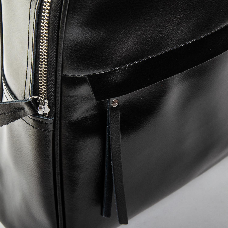 Сумка Женская Рюкзак кожа ALEX RAI 1-06 8649-2 black - фото 3