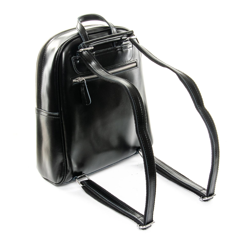 Сумка Женская Рюкзак кожа ALEX RAI 1-06 8649-2 black - фото 4