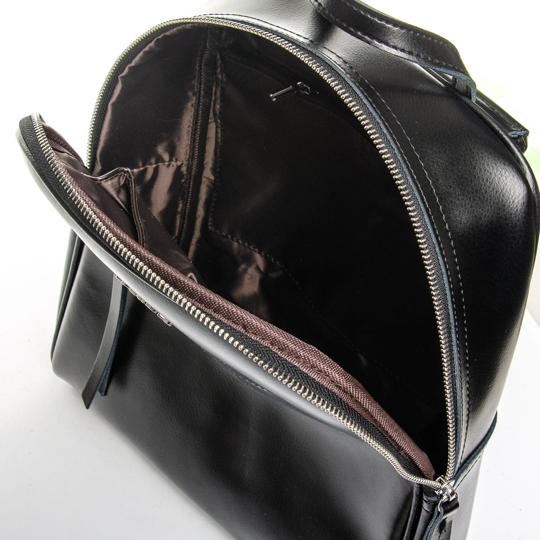 Сумка Женская Рюкзак кожа ALEX RAI 1-06 8649-2 black - фото 5