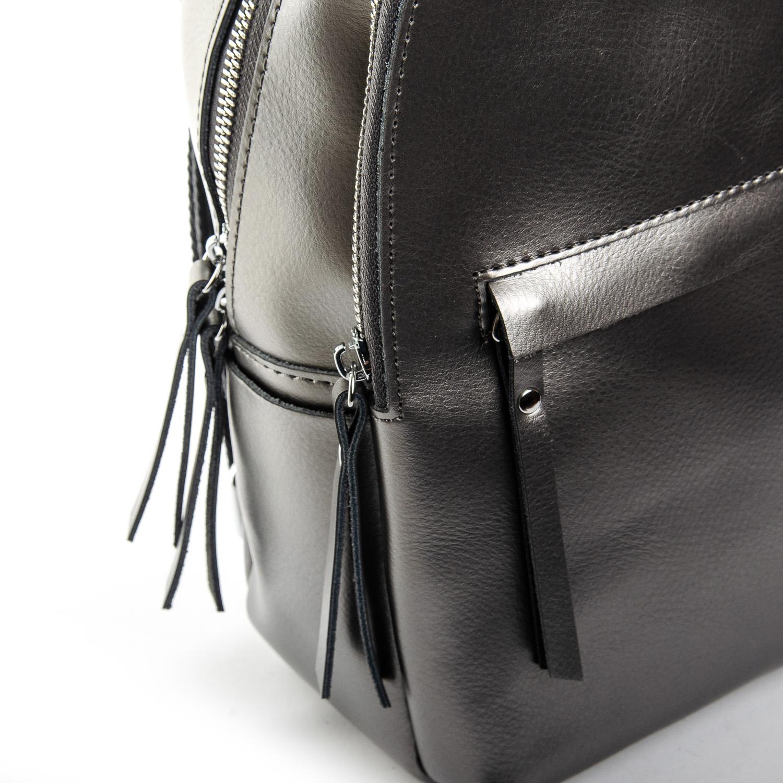 Сумка Женская Рюкзак кожа ALEX RAI 1-06 337 light-grey - фото 3