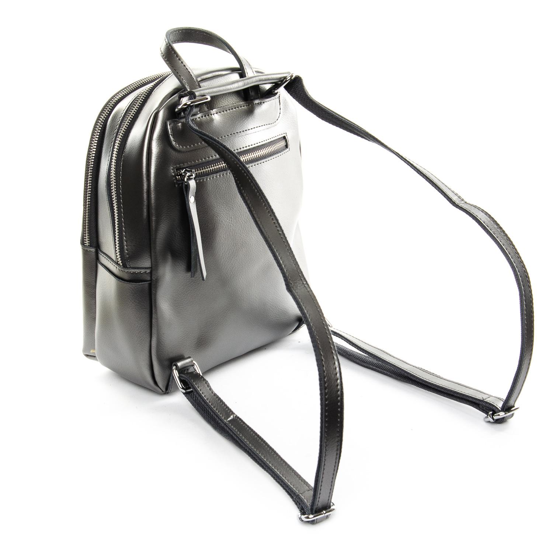 Сумка Женская Рюкзак кожа ALEX RAI 1-06 337 light-grey - фото 4